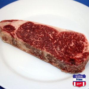 USDA Prime New York Strip steak Frozen