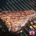 USDA Prime T-bone on the grill